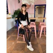 Low Women's Sneakers With Rhinestones White Tessa