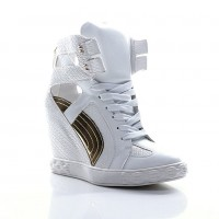 Sneakers Comet Tail White