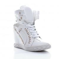 Sneakers Golden Spike White