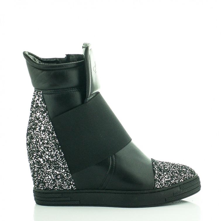 c4c577f0 -18% Niedostępny Sneakersy Czarne Z Brokatem Stellar