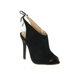 Czarne Sandały Na Obcasie Velvet Story