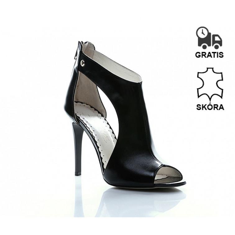 eb7fb98e4e22f -30% Niedostępny Sandały Na Obcasie Skórzane Luxury Pure