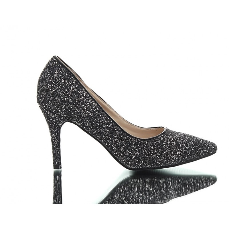 high heel shoes found pewter pumps