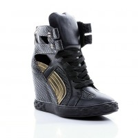 Sneakers Comet Tail Black