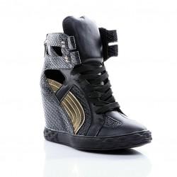 Sneakersy Comet Tail Black