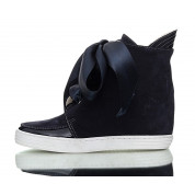 Navy Sneakers Bow Bow