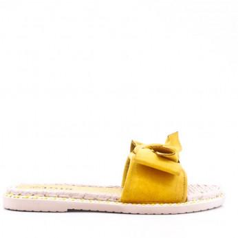 Klapki żółte