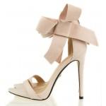 Różowe Sandały Na Szpilce Blow
