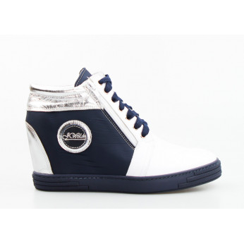Sneakers Leather Navy Tristania