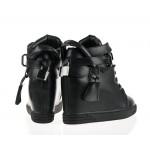 Sneakersy damskie z kłódką