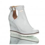 Sneakersy Srebrne Silver Spring