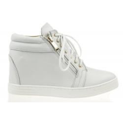 Sneakersy Białe Clear JJ