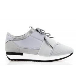 Buty Sportowe Damskie Szare Moly2