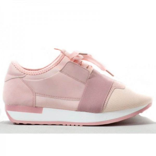 Buty Sportowe Damskie Różowe Moly2