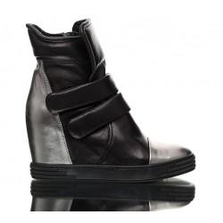 Sneakersy Czarne Stellar