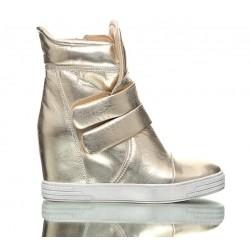 Sneakersy Złote Stellar