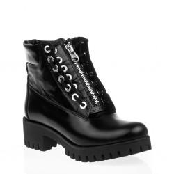 Czarne Sneakersy Fly