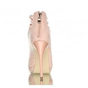 Różowe Sandały Na Obcasie Diavolo Pink