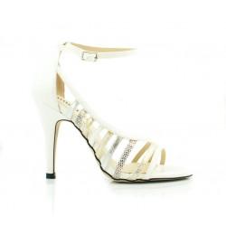 Sandały Na Szpilce Monnari Białe Focus
