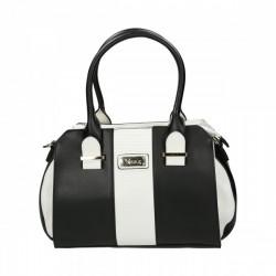 Czarno-biały kuferek w stylu Marylin Monroe