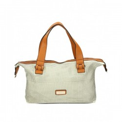 Szara stylowa torebka do ręki. Szyk i elegancja