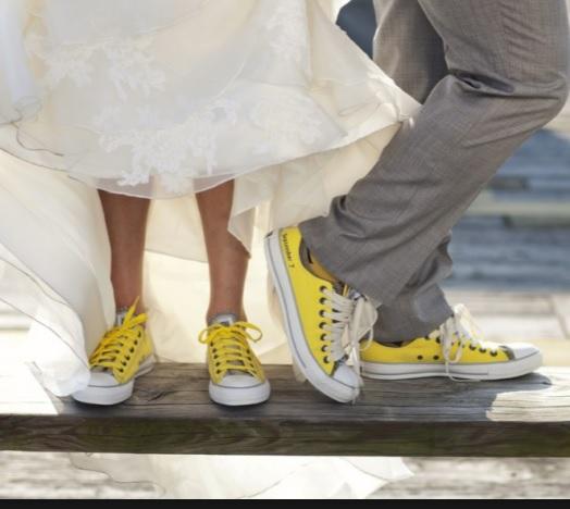 Zdjęcie żółte tenisówki