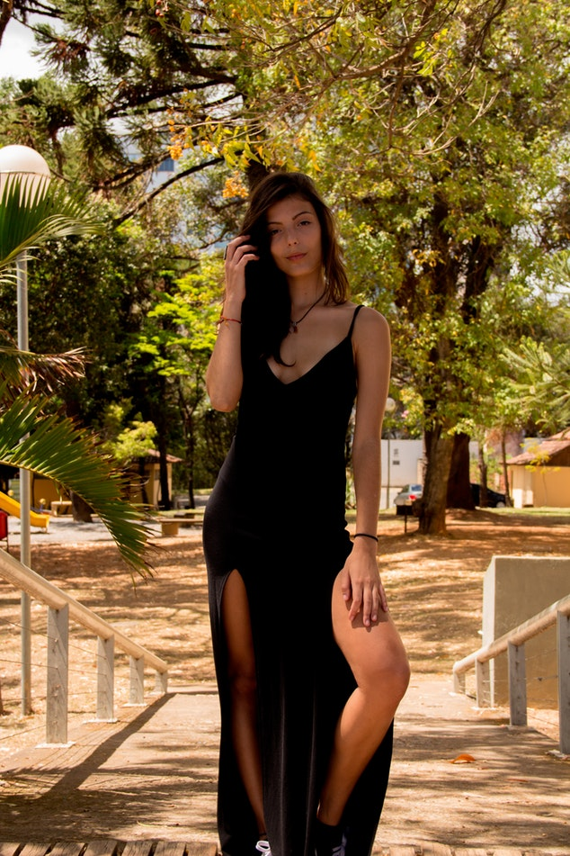 f638c2be2a Idealne buty do granatowej sukienki